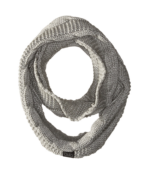 BULA Lulu Infinity Scarf - Heather Medium Grey Combo
