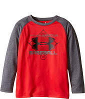 Under Armour Kids - Branded Basketball Long Sleeve Raglan (Toddler)