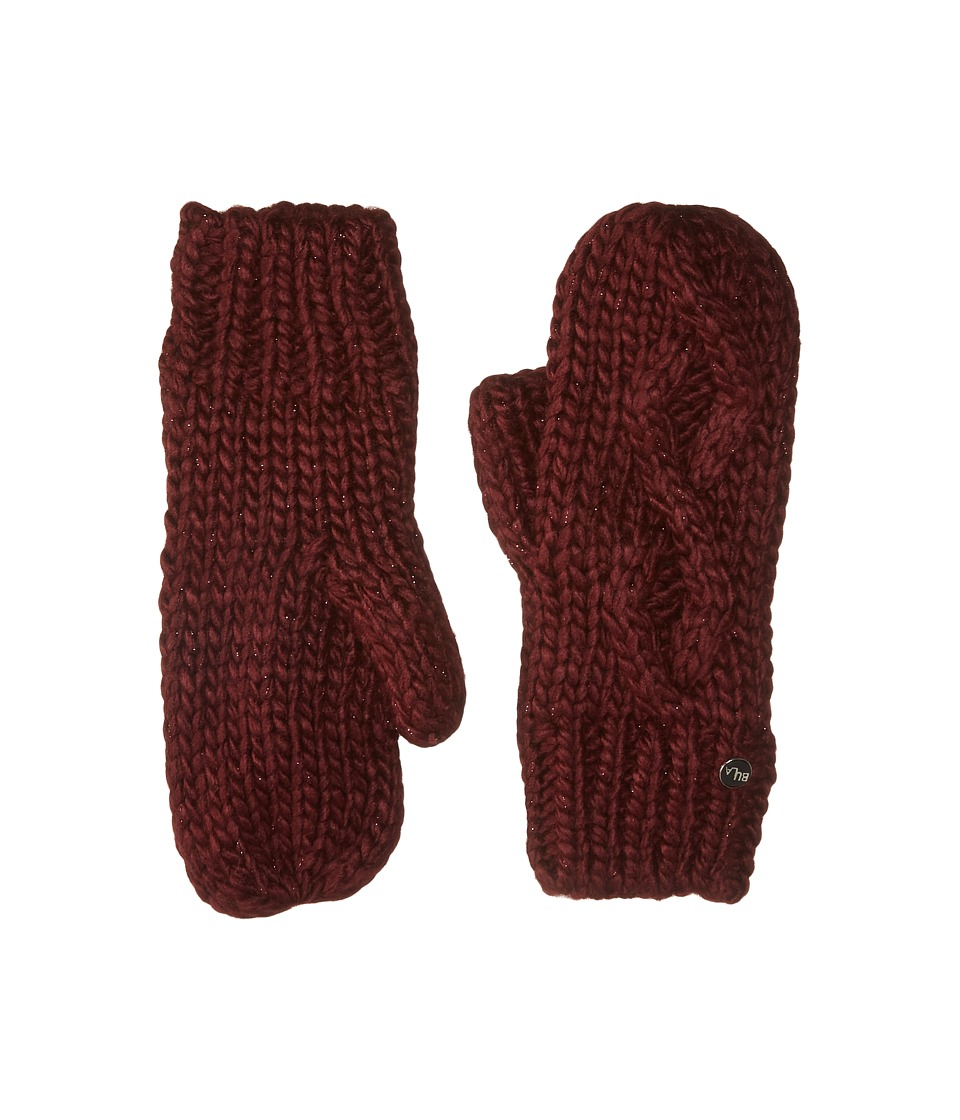 BULA Lina Mitten (Burgundy) Over-Mits Gloves