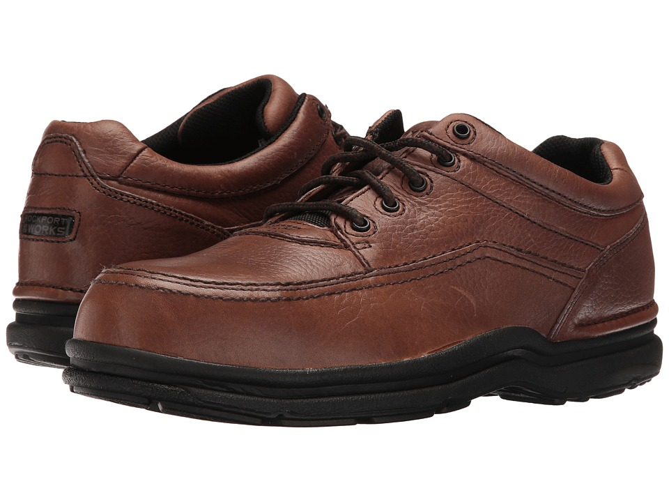 Rockport Works - World Tour (Brown) Mens Work Boots