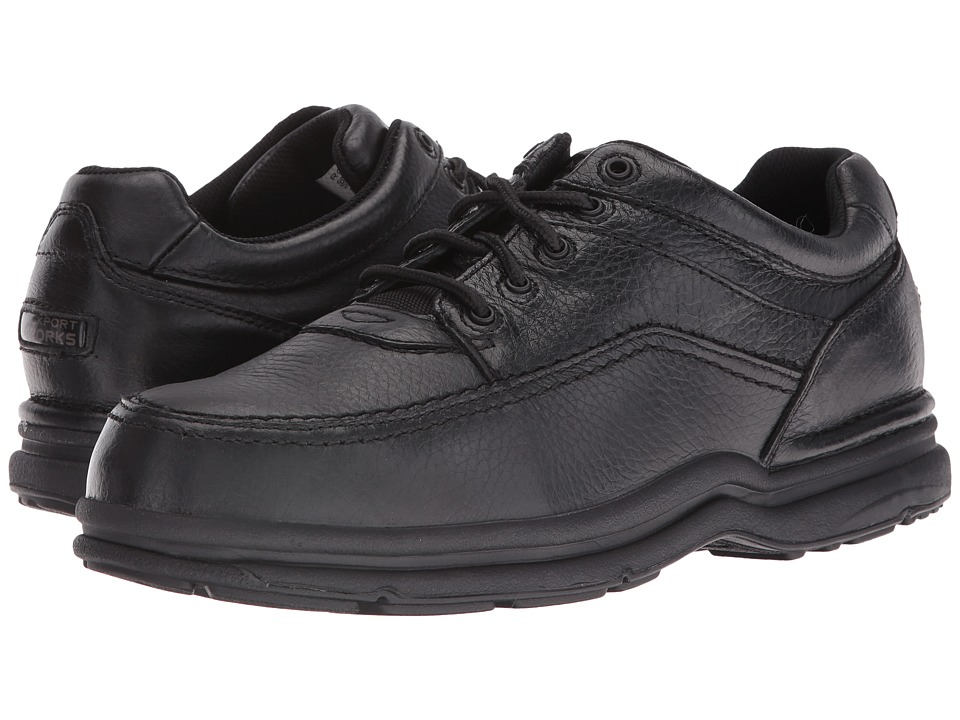 Rockport Works - World Tour (Black) Mens Work Boots