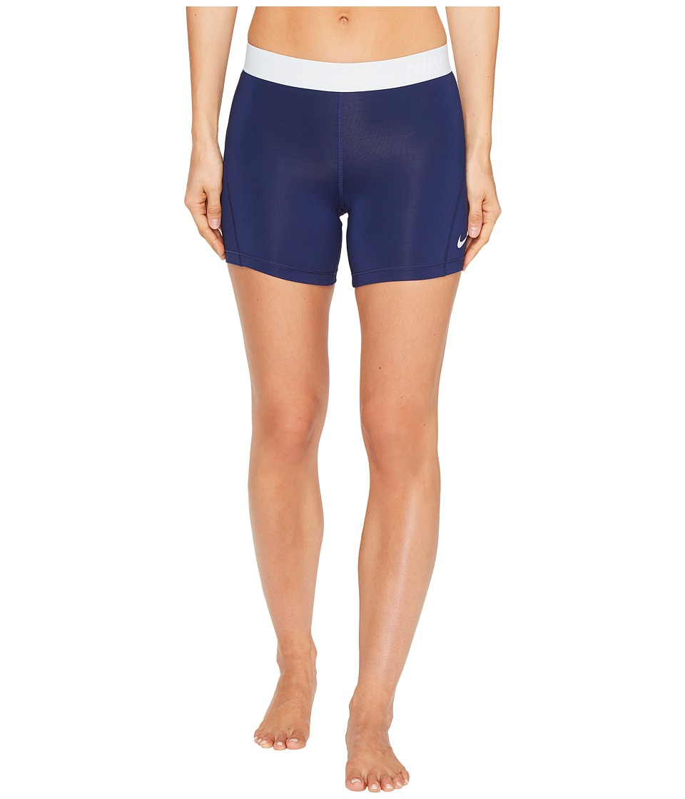 Nike Pro 5 Cool Training Short (Binary Blue/Pure Platinum/Pure Platinum) Women