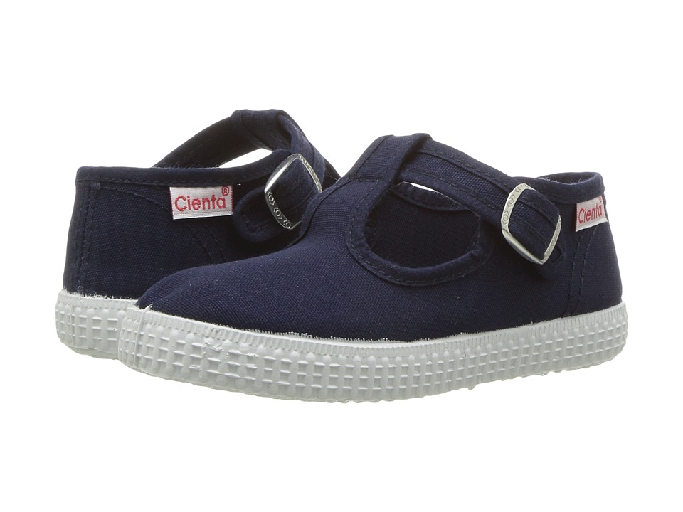 Cienta 51000 (Infant/Toddler/Little Kid/Big Kid) (Navy) Girl's Shoes
