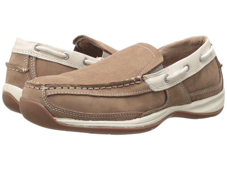 Rockport Works - Sailing Club (Tan/Cream) Womens Work Boots