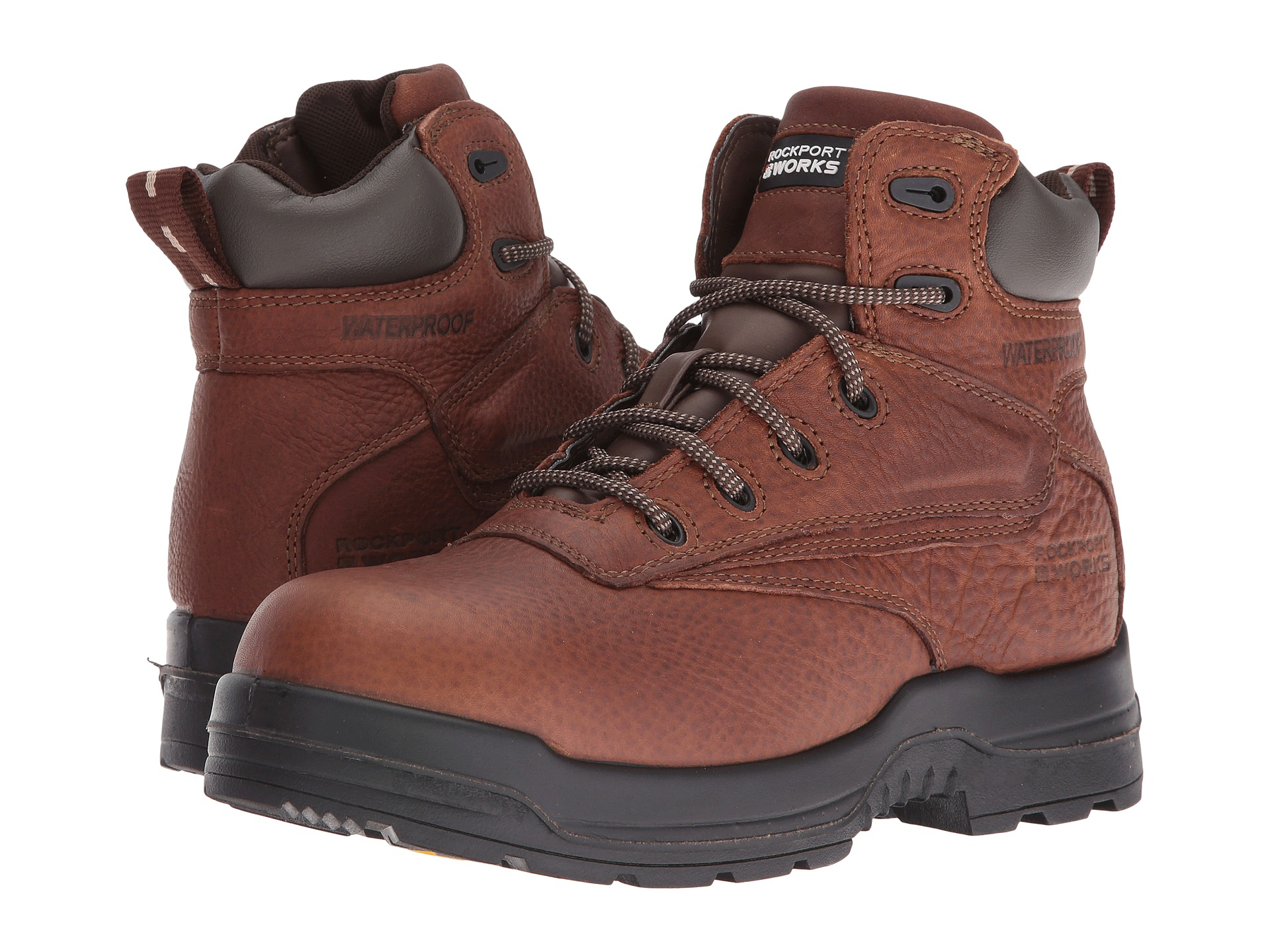 Extra Wide Work Boots Composite Toe | Shipped Free at Zappos