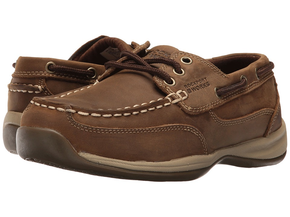 Rockport Works - Sailing Club (Brown) Womens Work Boots