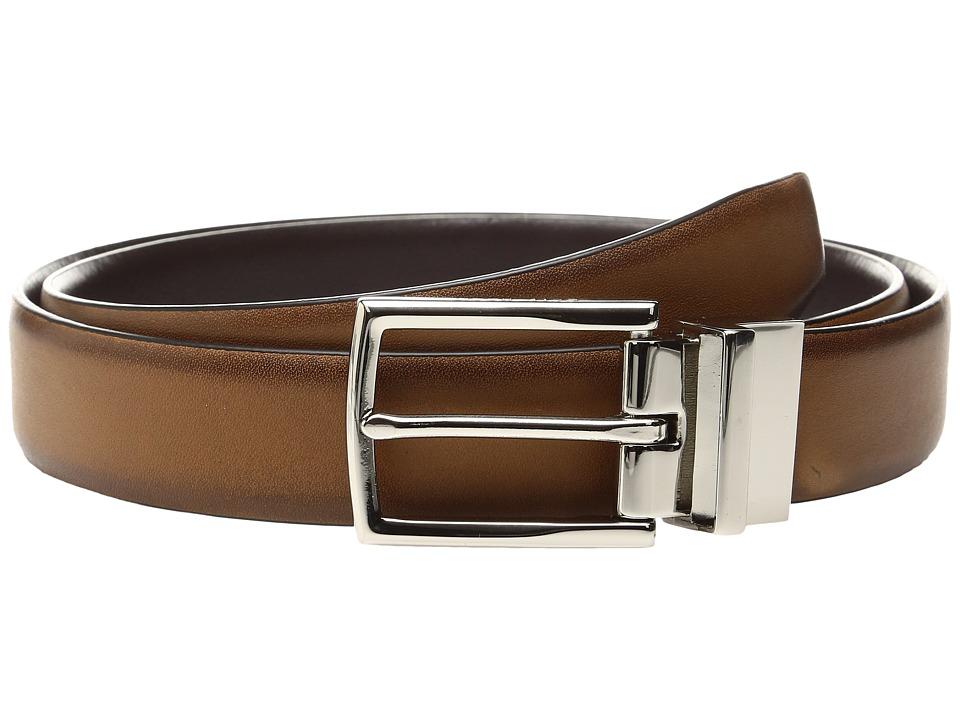 Cole Haan Preston Grand 30mm Reversible Belt (British Tan/Java) Men