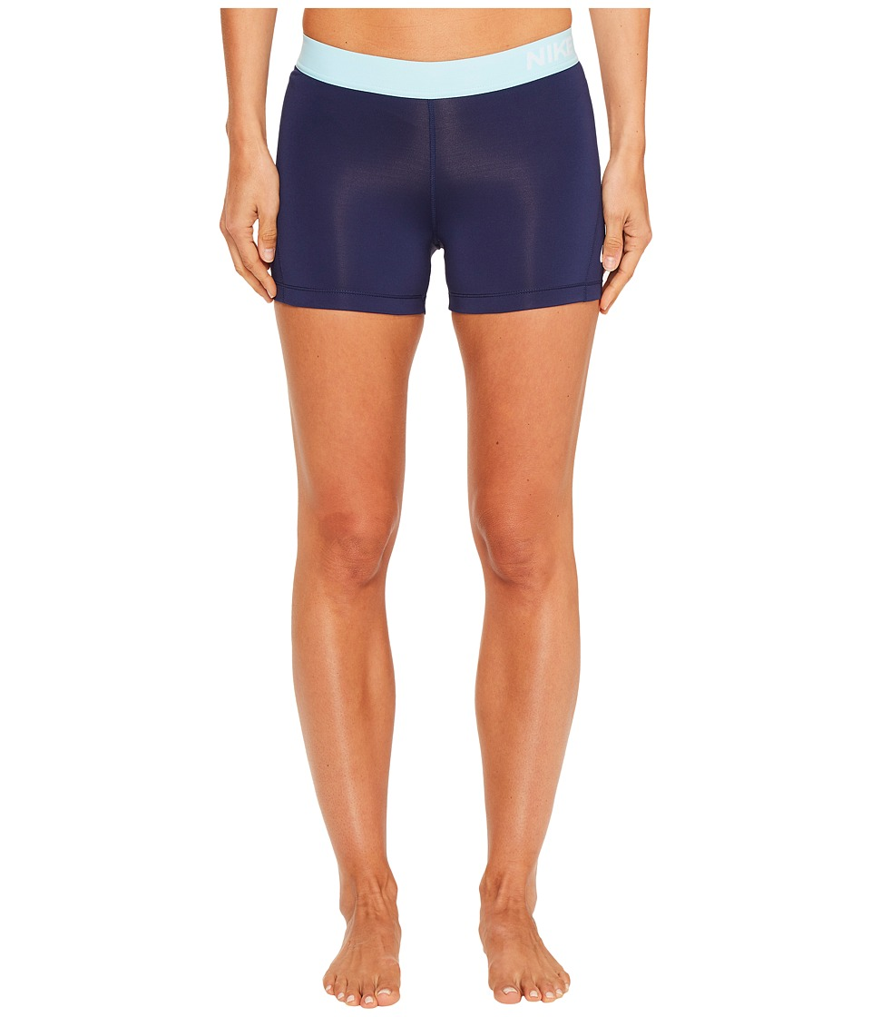 Nike Pro 3 Cool Compression Training Short (Binary Blue/Still Blue/White) Women