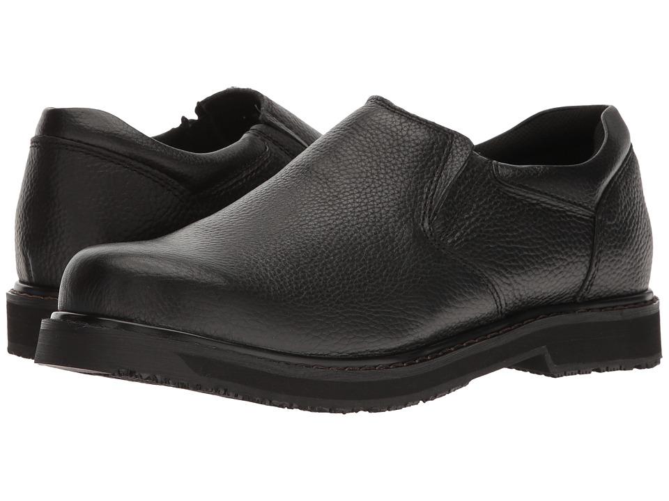 Dr. Scholls Work - Winder II (Black Leather) Mens Shoes