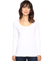 Lilla P - Pima Modal Long Sleeve Scoop Neck