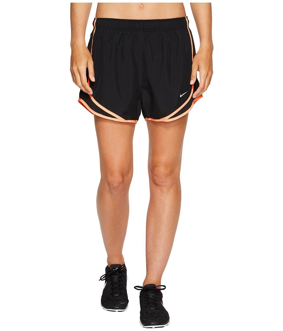 Nike Dry Tempo Short (Black/Black/Sunset Glow/Wolf Grey) Women