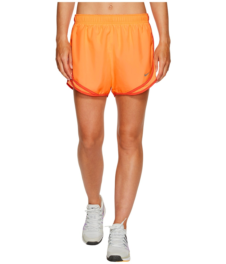 Nike Dry Tempo Short (Sunset Glow/Sunset Glow/Wolf Grey) Women