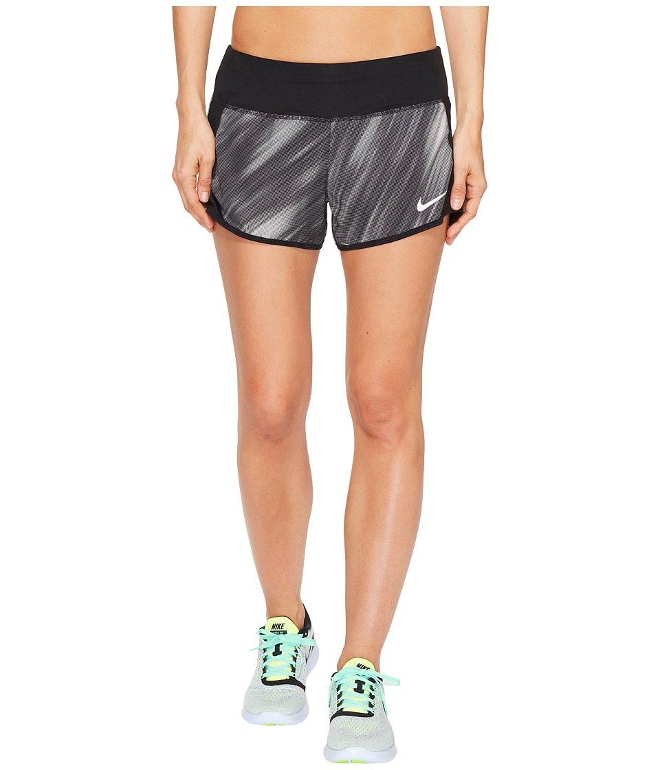 Nike Dry Print Short (Black/Black) Women