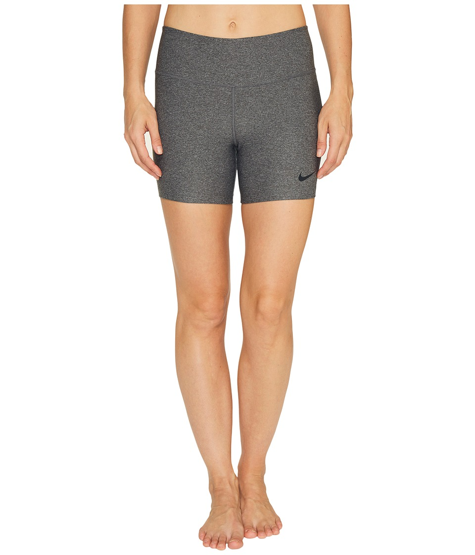 Nike Power Legend Training Short (Charcoal Heather/Black) Women