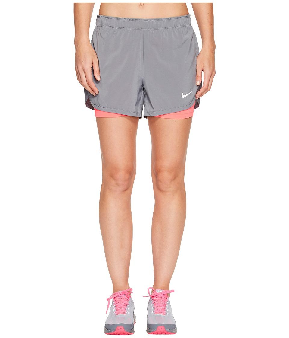 Nike Flex 2-in-1 Training Short (Cool Grey/Racer Pink/White) Women