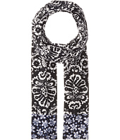 MICHAEL Michael Kors - Tapestry Bayeux Floral Long Skinny Scarf