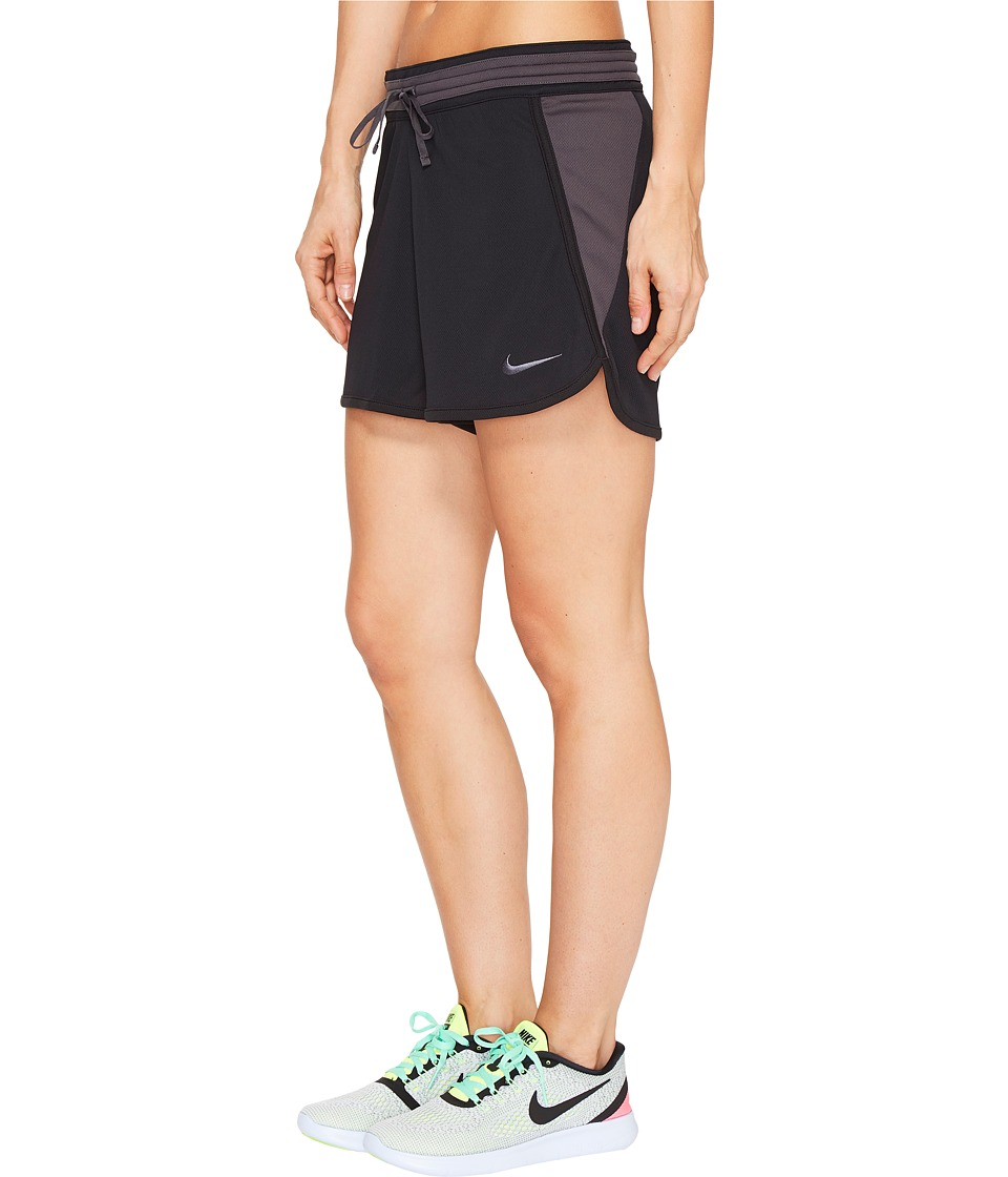 Nike Dry Infiknit Short (Black/Anthracite/Anthracite/Anthracite) Women