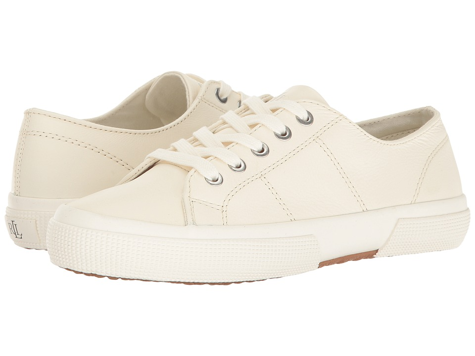LAUREN Ralph Lauren Jolie (Artists Cream) Women\u0027s Lace up casual Shoes