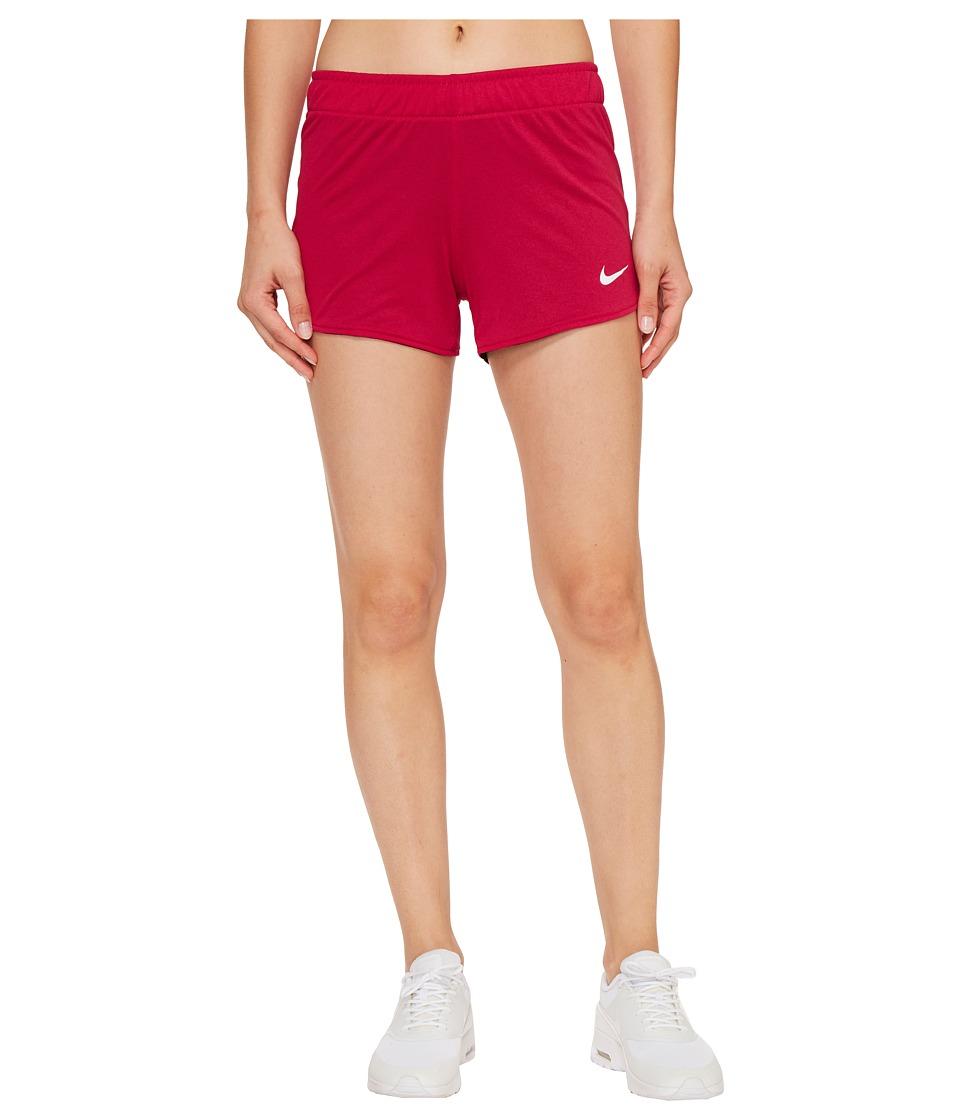 Nike Dry Jump Reversible Short (Sport Fuchsia/Black/White/White) Women