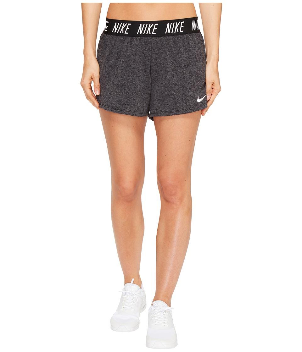 Nike Dry Attack Short (Black/Heather/Black/White) Women