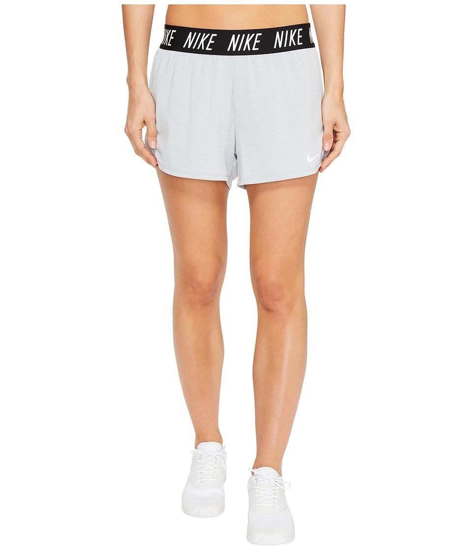 Nike Dry Attack Short (Wolf Grey/Heather/Black/White) Women