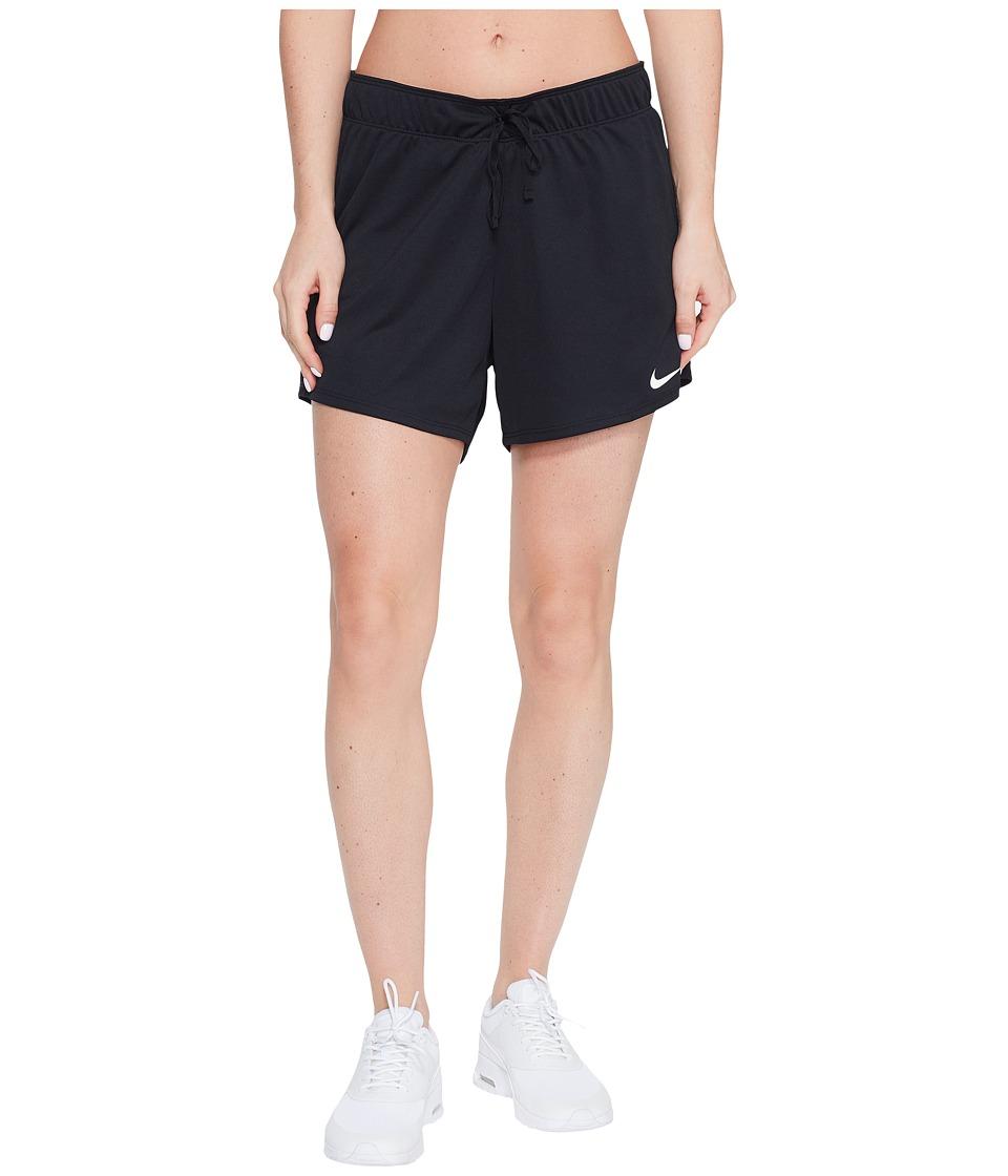 Nike Dry Training Short (Black/Black/White) Women