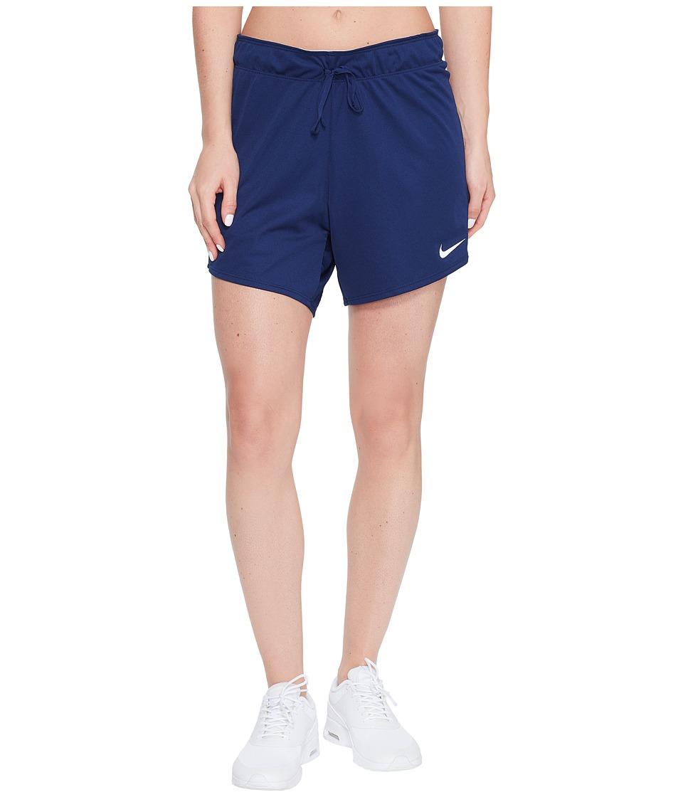 Nike Dry Training Short (Binary Blue/Wolf Grey/White) Women