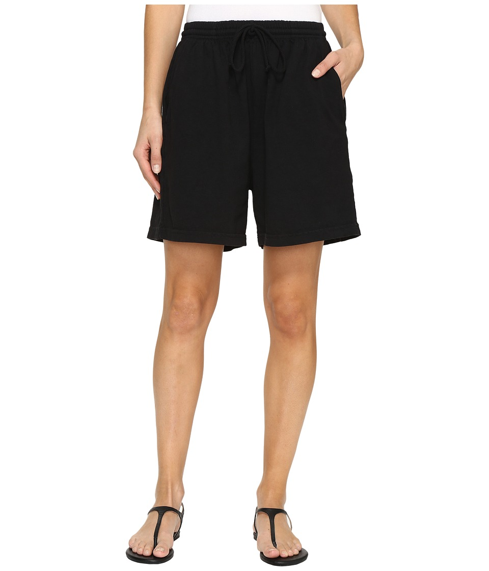 Fresh Produce - Jersey Shorts (Black) Womens Shorts