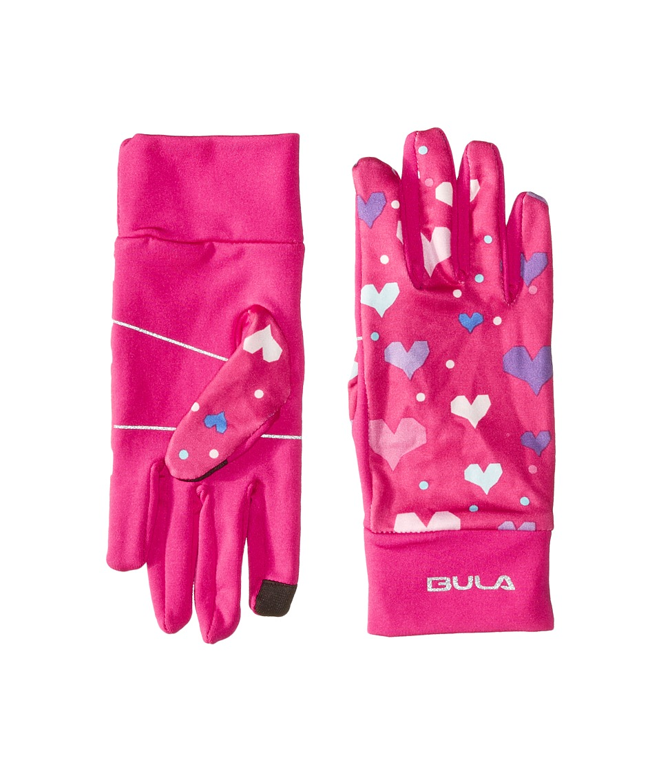 BULA Kids Chinook Gloves (Big Kid) (Heart Pink) Over-Mits Gloves