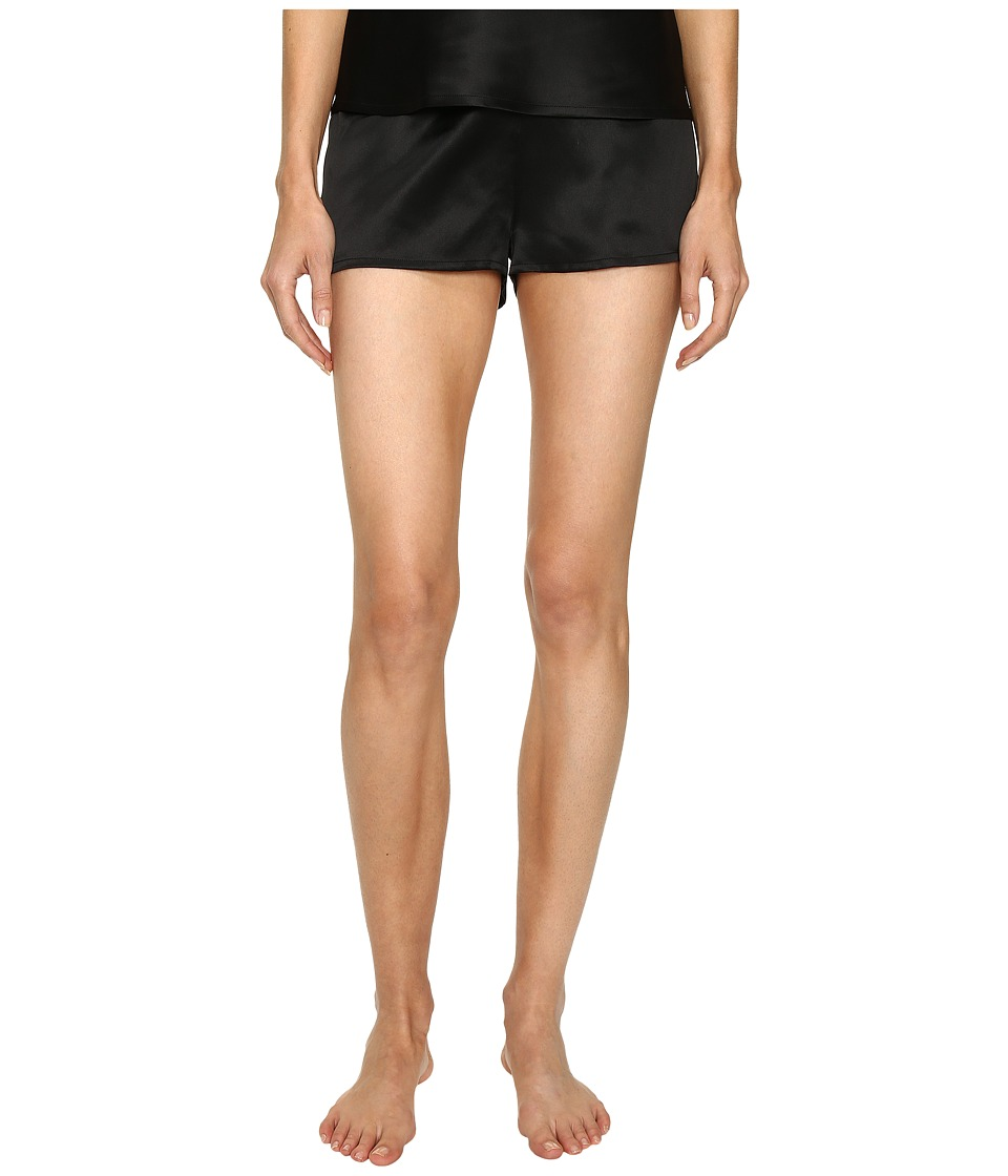La Perla Silk Shorts (Black) Women's Pajama