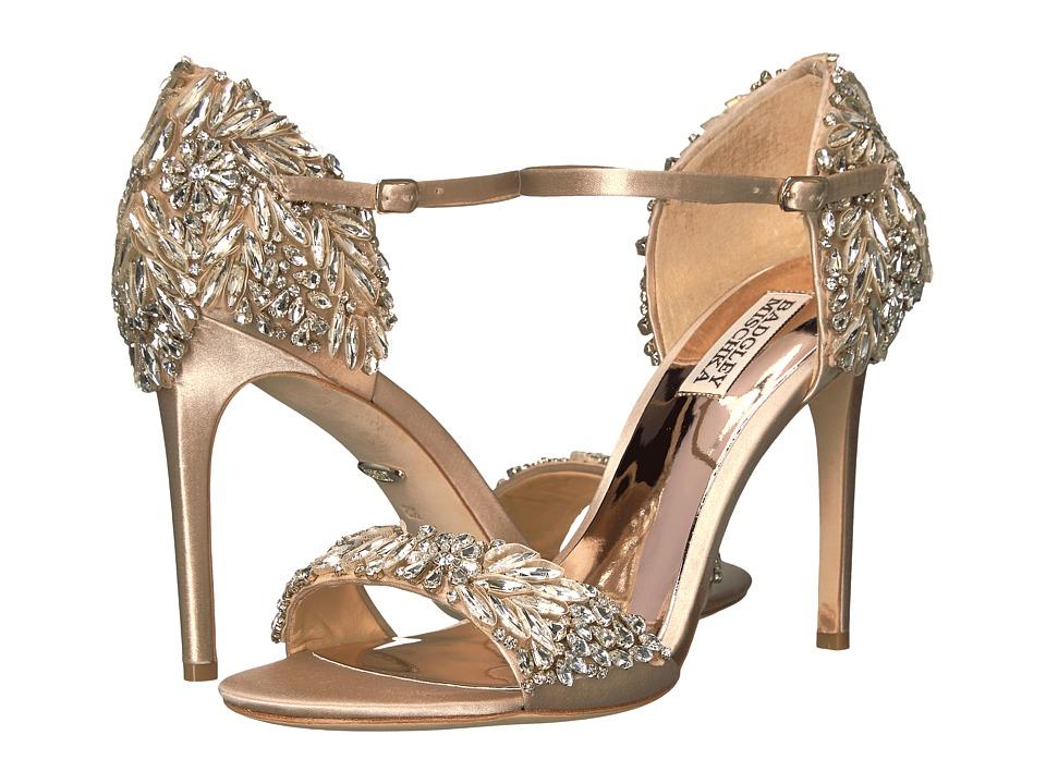 Badgley Mischka Tampa (Nude Satin) High Heels