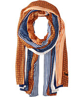 MICHAEL Michael Kors - Graphic Patchwork Oblong Scarf
