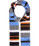 MICHAEL Michael Kors - Stable Stripe Menage Dot Long Skinny Scarf