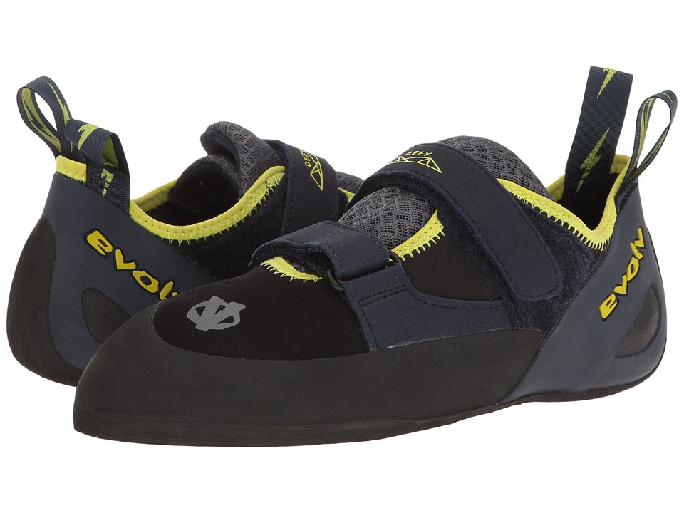 EVOLV - Defy Black (Black/Sulphur) Mens Shoes