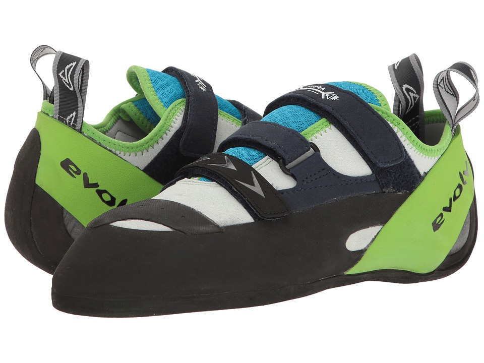 Evolve Supra (White/Neon Green) Men's Shoes