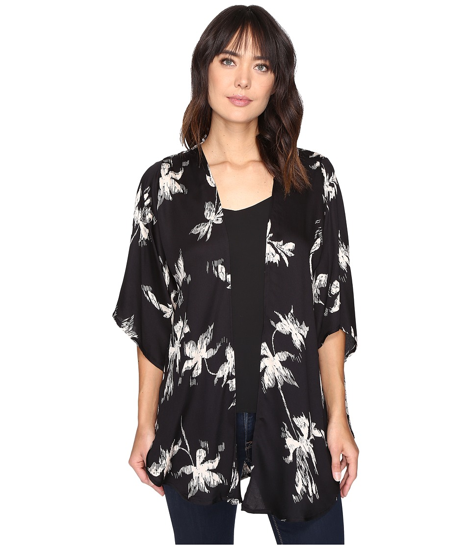 Image of Amuse Society - After Midnight Kimono (Charcoal) Women's Sweater