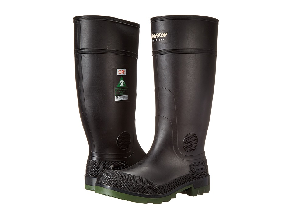 Baffin - Enduro Steel Toe (Black/Clear/Green) Mens Boots