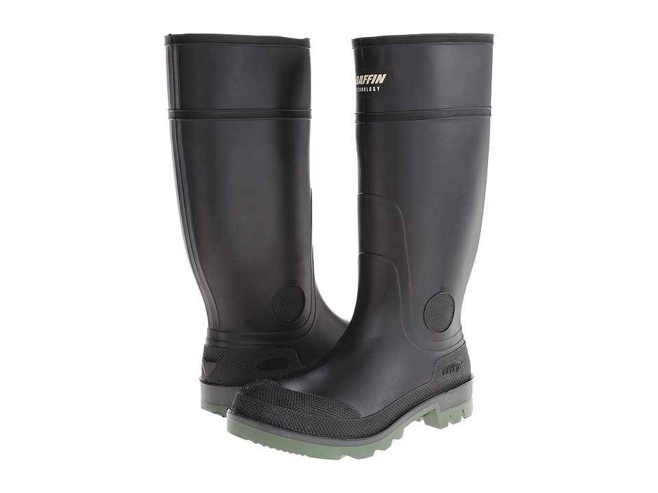 Baffin Enduro Plain Toe (Black/Clear/Green) Men