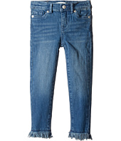 Levi's® Kids - Fringe Ankle Super Skinny Jeans (Toddler)
