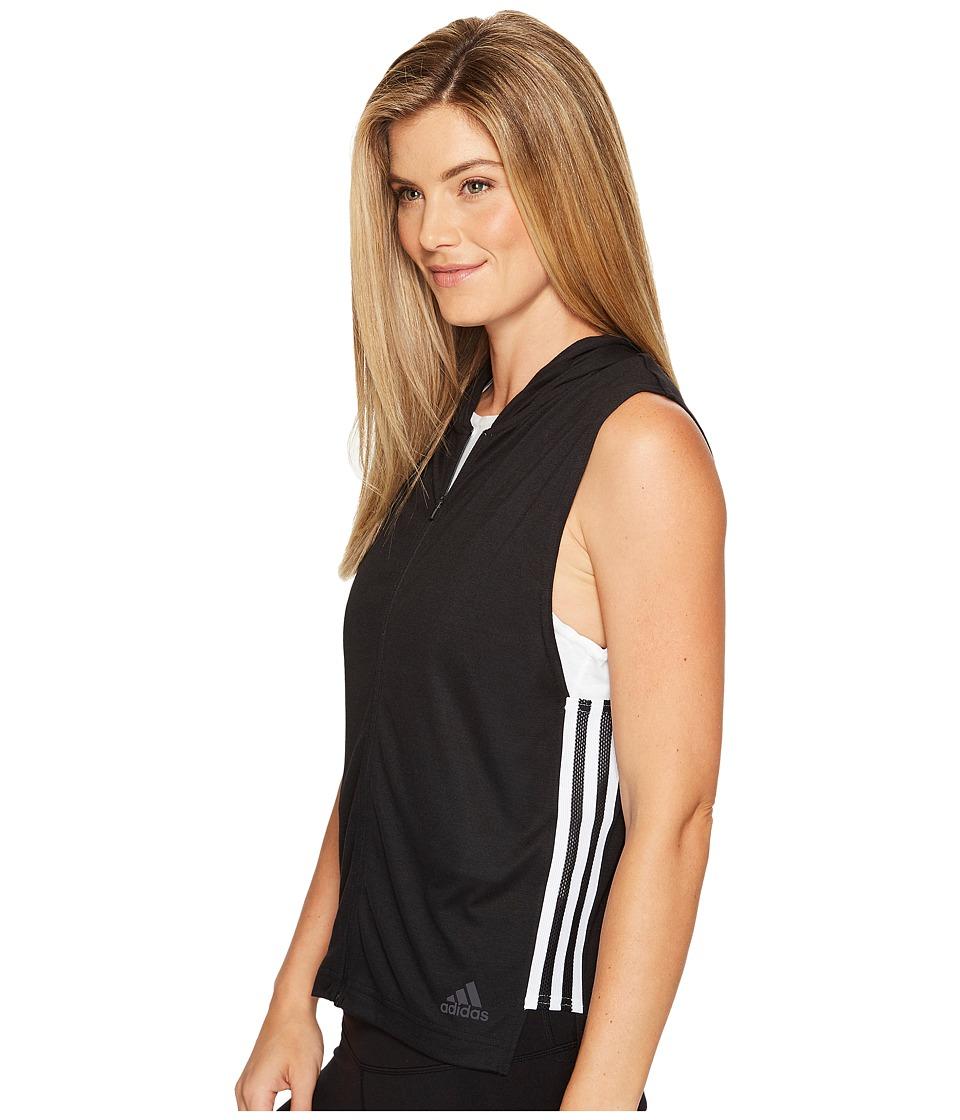 adidas - Show Your Stripes Sleeveless Hoodie