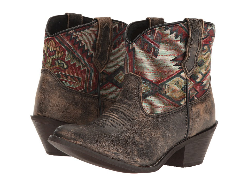 Laredo Micah (Black/Tan) Cowboy Boots