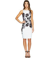 Maggy London - Daisy Bloom Scuba Sheath Dress