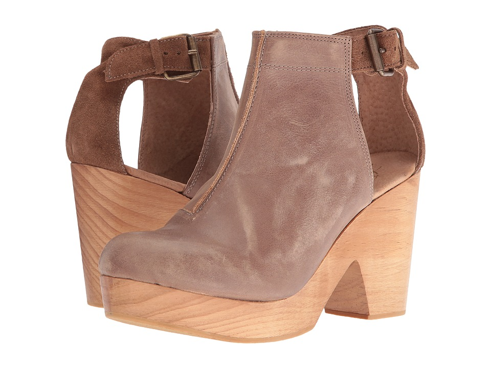 Free People Amber Orchard Clog (Taupe) Women