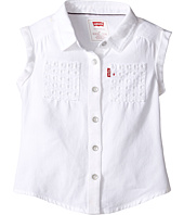 Levi's® Kids - Rolled Sleeve Short Sleeve Denim Top (Toddler)