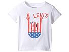 Levi's(r) Kids Short Sleeve Hi-Low Tee (Toddler)