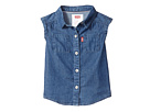 Levi's(r) Kids Rolled Sleeve Short Sleeve Denim Top (Infant)