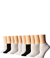 Steve Madden - 10-Pack Multicolor Low Cut Socks (Toddler/Little Kid/Big Kid)