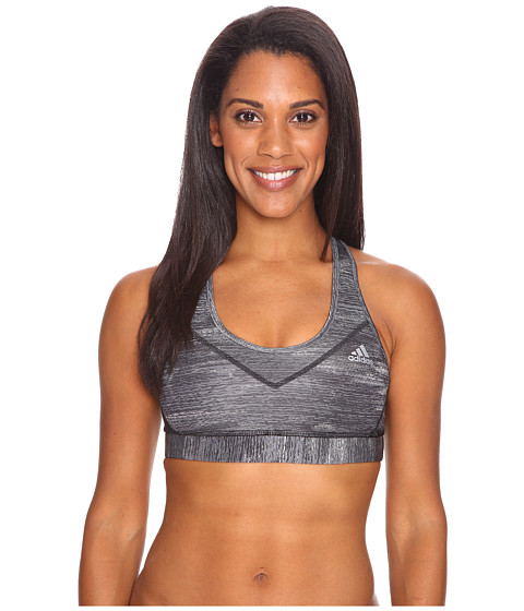 adidas Printed Heather Techfit Molded Cup Bra
