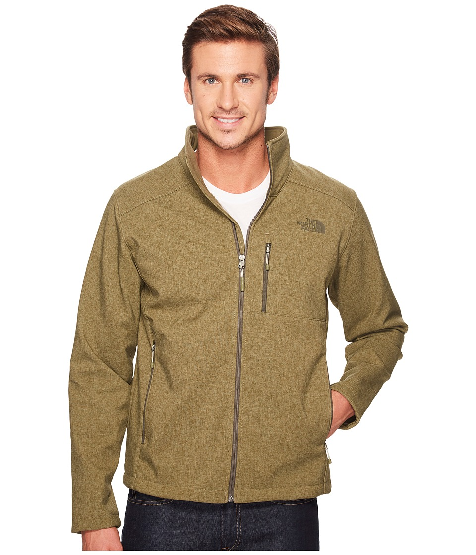 The North Face Apex Bionic 2 Jacket (Burnt Olive Green Heather/Burnt Olive Green Heather) Men