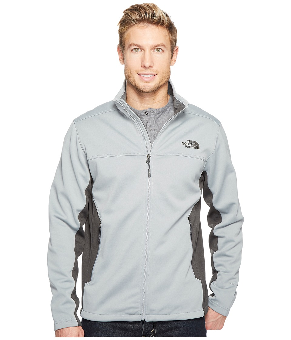 The North Face Apex Canyonwall Jacket (Monument Grey/Asphalt Grey) Men
